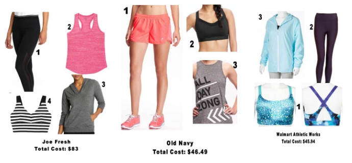 Affordable Fitness Wear
