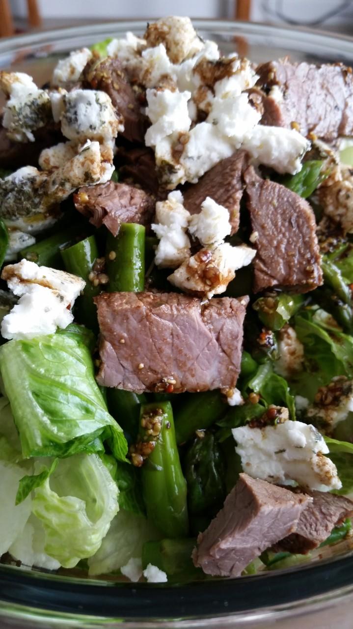 Steak and Goat CheeseSalad