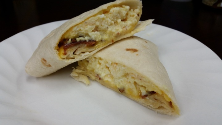 How to: Freezer Bacon and Cheese Egg Wraps