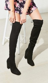 Urban Outfitters Samantha Faux Suede Thigh High Boot (3)