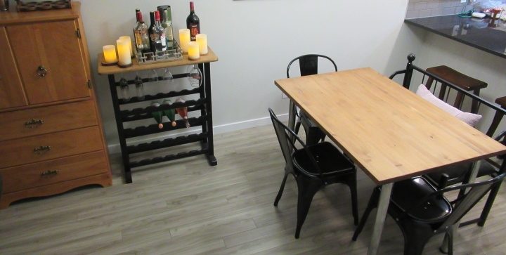 How I spent $510 to Furnish and Decorate my DiningRoom